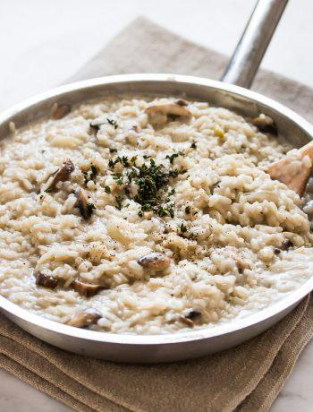 Perfect Mushroom Risotto