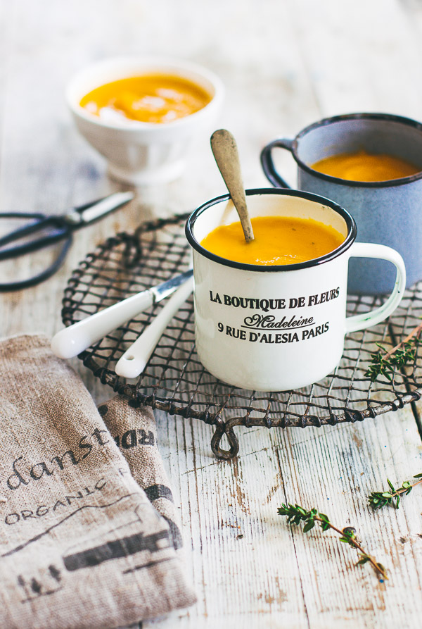 how to make sweet potato soup easy