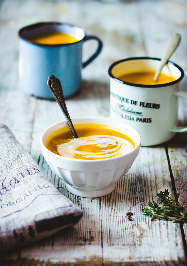Easy Creamy Sweet Potato Soup Recipe Pretty Simple Sweet