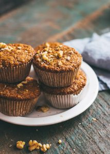Perfect Carrot Muffins
