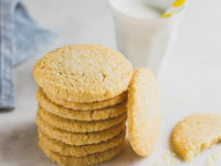 Lemon Sable Cookies