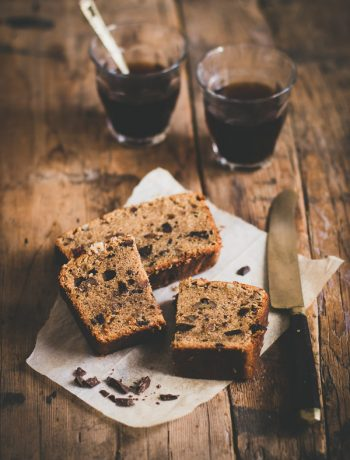 Chocolate Pecan Espresso cake
