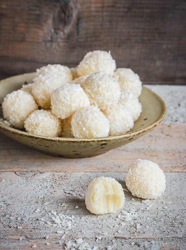 White Chocolate Coconut Truffles Pretty Simple Sweet