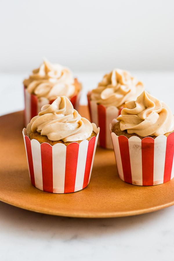 AMAZING Apple Toffee Cupcakes
