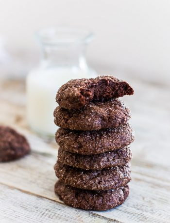 Super Fudgy Flourless Chocolate Cookies