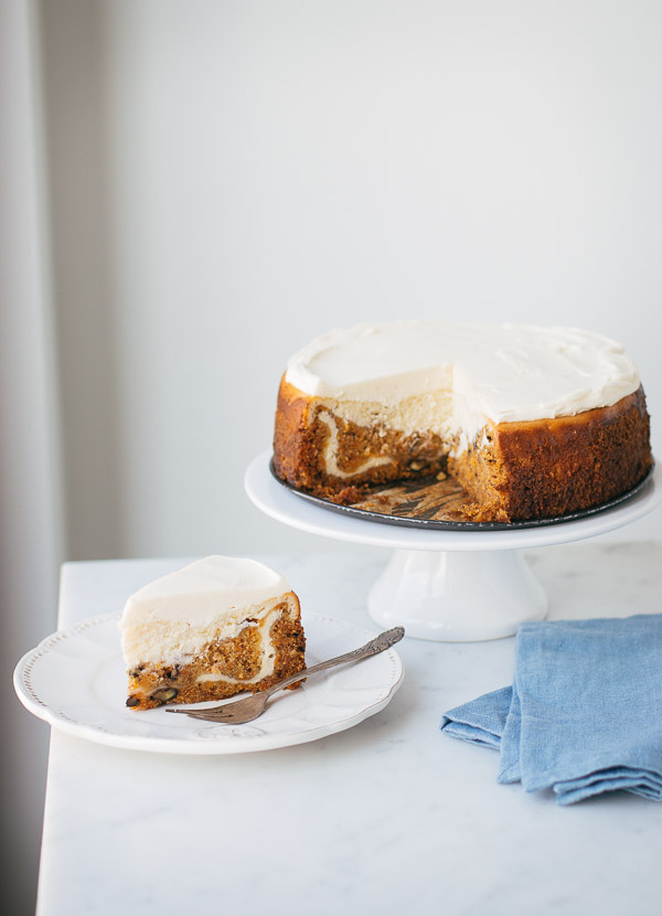 This over-the-top special carrot cake cheesecake is so moist it will melt in your mouth!