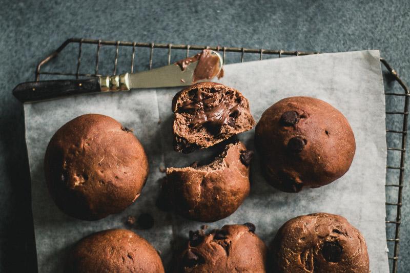 Amazing Chocolate Buns