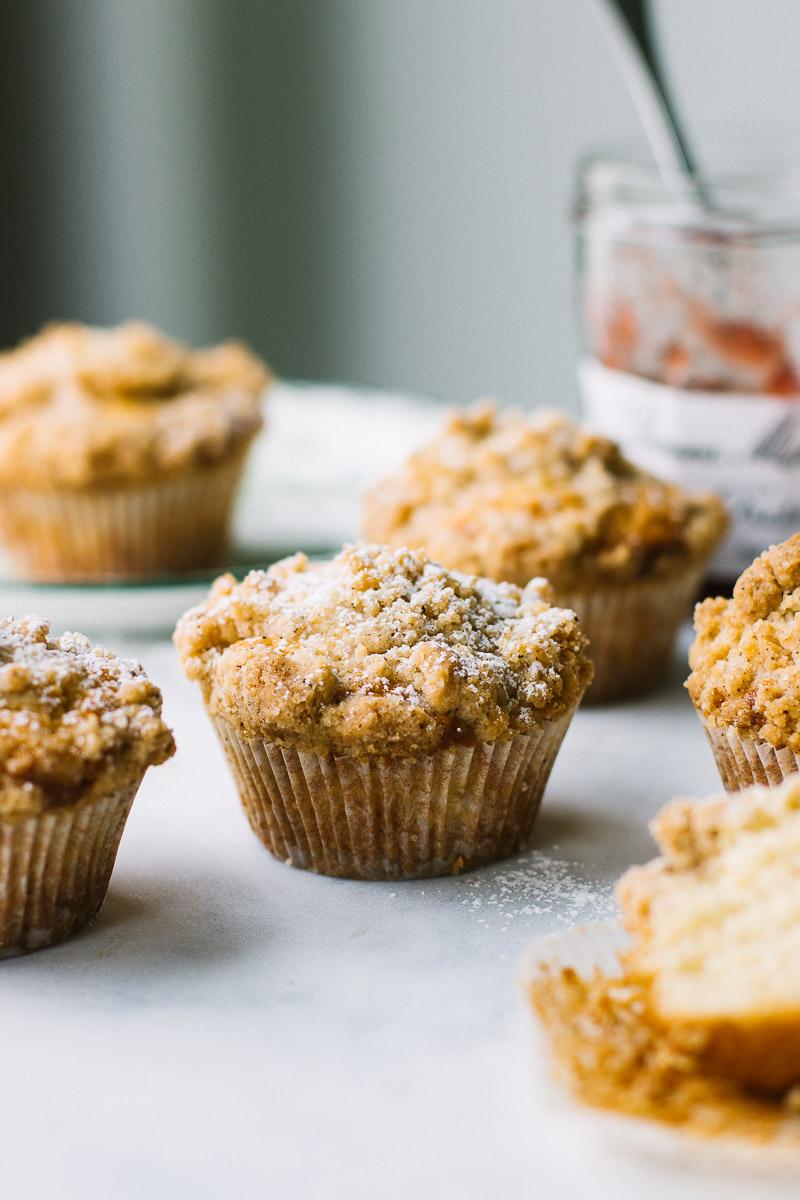 Crumb Coffee Cake Muffins