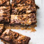 Pretzel Peanut Butter Brownies