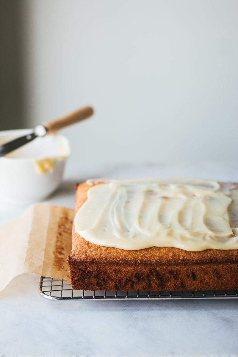 Perfect White Chocolate Mud Cake