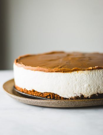 The most amazing Biscoff cheesecake