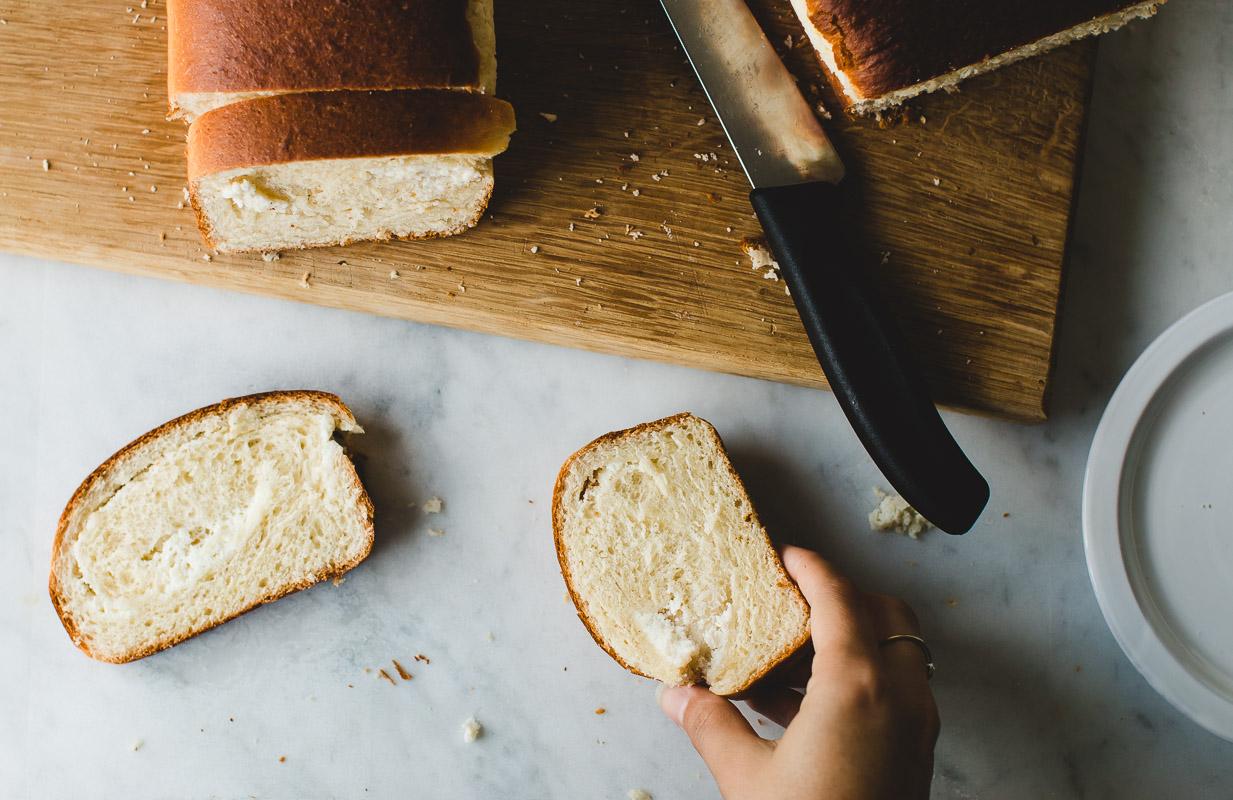Sweet Ricotta Swirl Bread