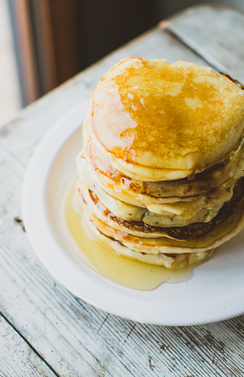 Thick and Fluffy Ricotta Pancakes