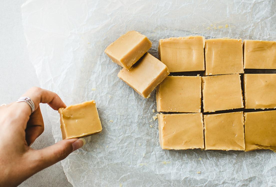 4-Ingredient Peanut Butter Fudge- So Good!