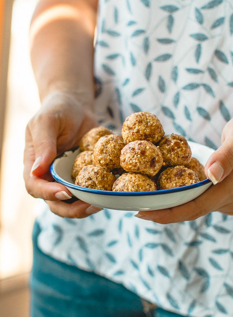 Super Tasty Peanut Butter Energy Balls