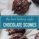 Amazing Triple Chocolate Scones