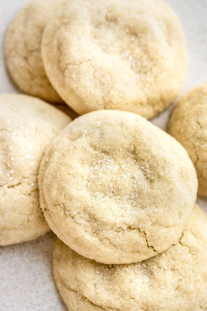 Easy Pillowy Soft Sugar Cookie Recipe Pretty Simple Sweet