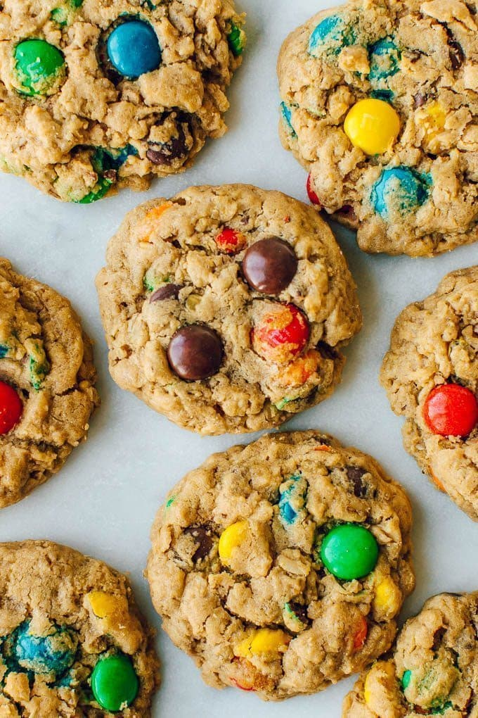 Best Monster Cookies Recipe Soft And Chewy Pretty