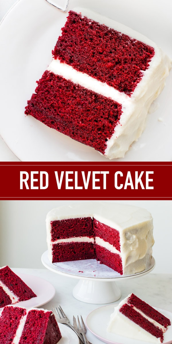 The absolute best red velvet cake. Classic, extremely moist, fluffy, flavorful, and perfectly red.
