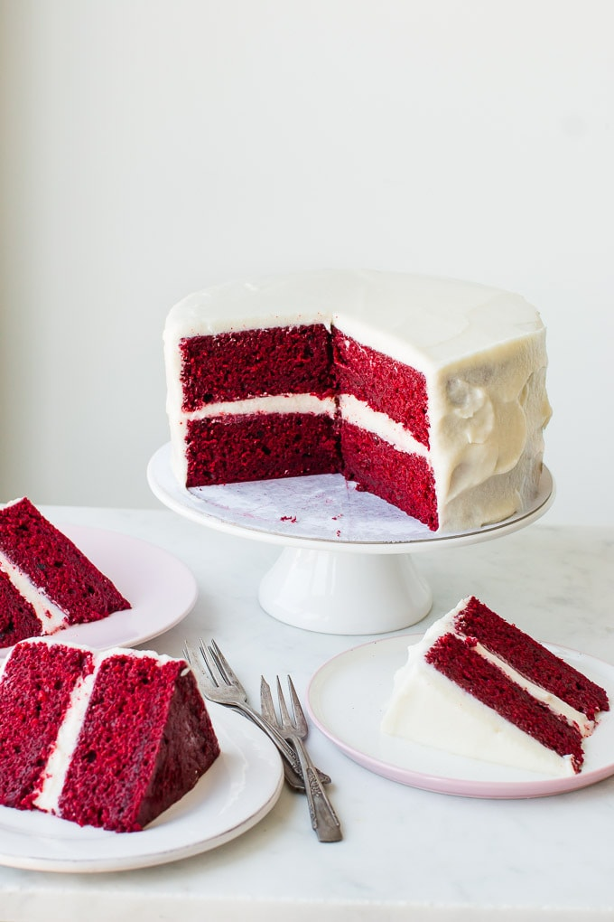 The Best Red Velvet Cake Easy Recipe