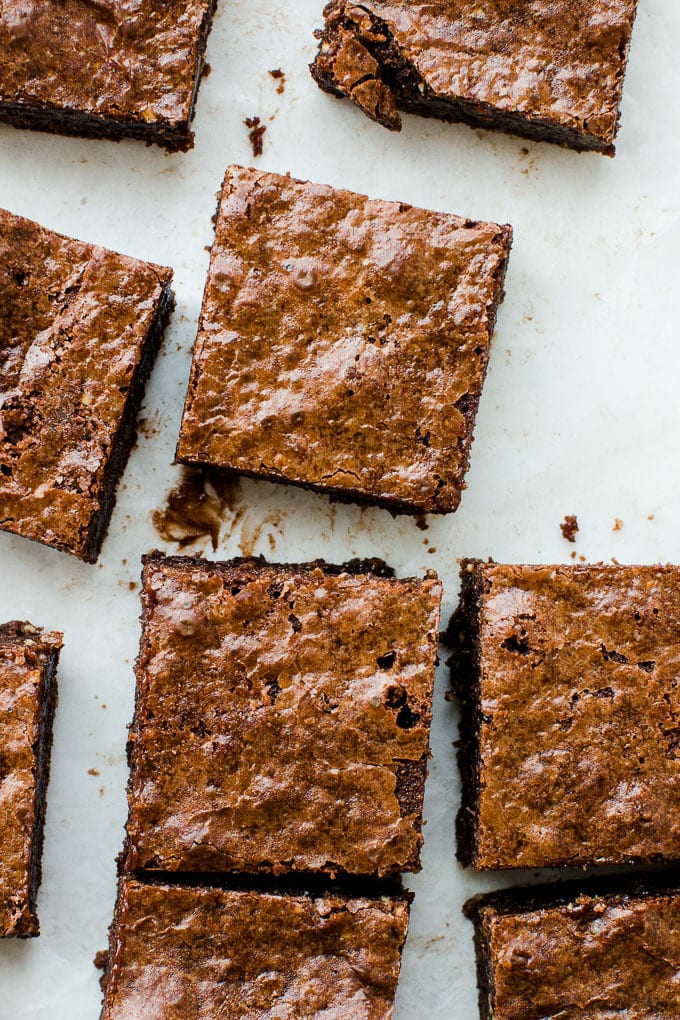 flourless brownies (gluten free)