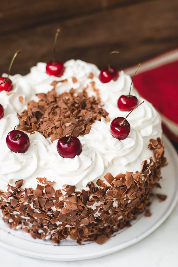 Layer Black Forest Cake Recipe
