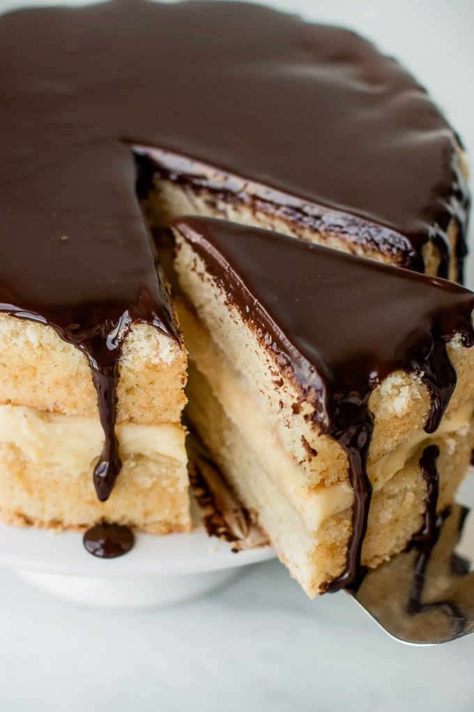 Easy Boston Cream Pie Recipe