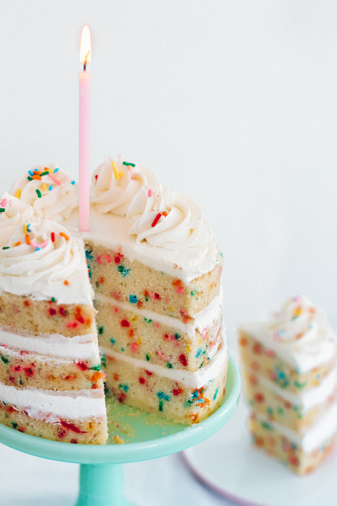 The Best Funfetti Cake