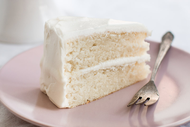 The Best White Cake Recipe - Pretty. Simple. Sweet.