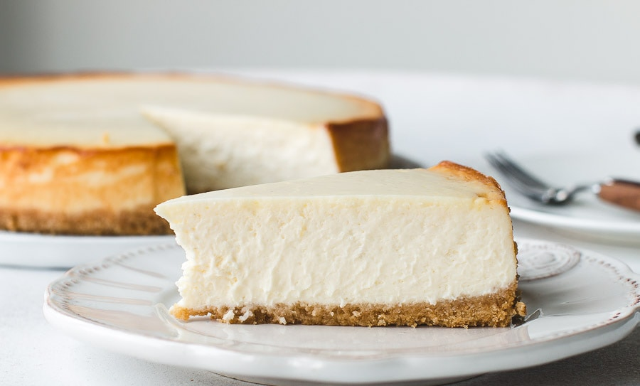 Creamiest Most Amazing New York Cheesecake Pretty Simple Sweet