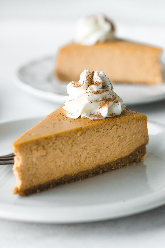 Super Creamy Pumpkin Cheesecake Recipe Pretty Simple Sweet