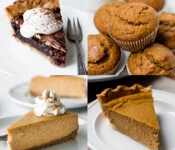 Thanksgiving Dessert and Pie Recipes