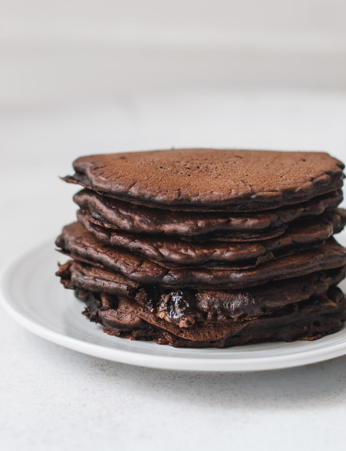 The Most Amazing Chocolate Pancakes Pretty Simple Sweet