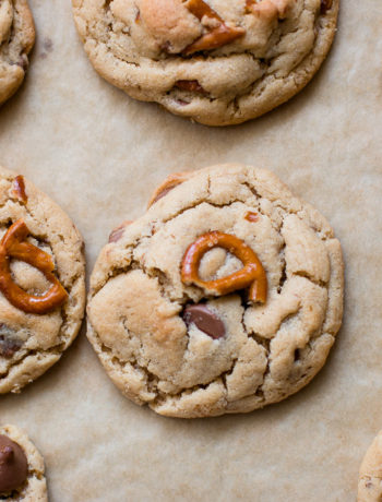 Peanut Butter Pretzel Milk Chocolate Cookies