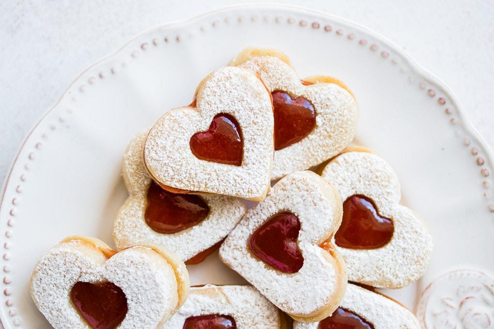 Linzer-Cookies