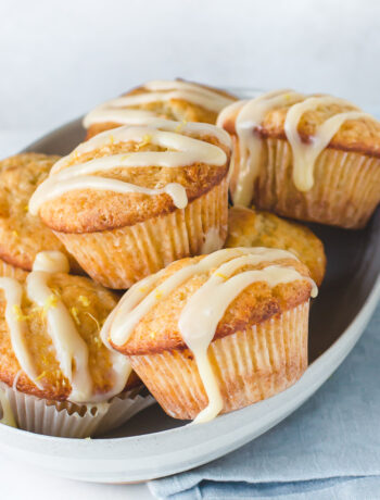 Lemon White Chocolate Muffins