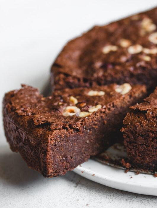 Flourless Hazelnut Chocolate Cake